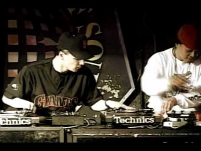 DJ Qbert Mix Master Mike aka Dream Team (USA)- DMC World Champion 1993 - Winning Set