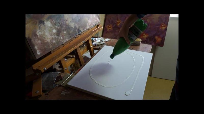 Как сделать клей для холста - V-spo.ru