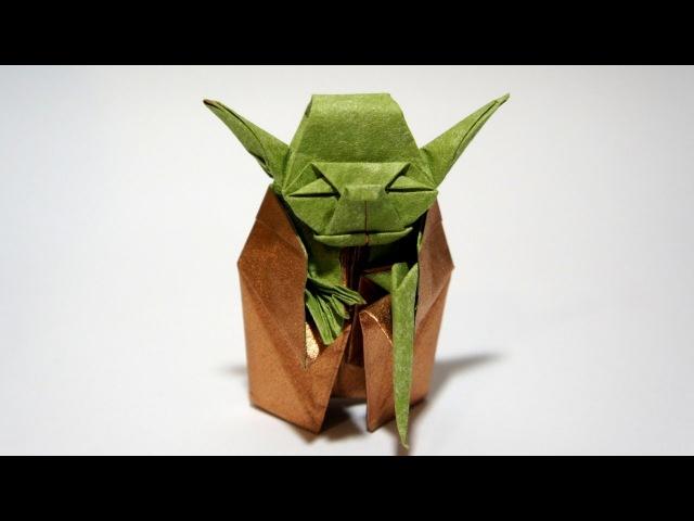 Origami Jedi Master Yoda (Fumiaki Kawahata) - Star Wars
