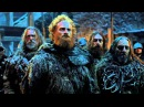 Game of Thrones Season 5: Episode #1 - Kit Harington & Ciarán Hinds on Mance Rayder (HBO)