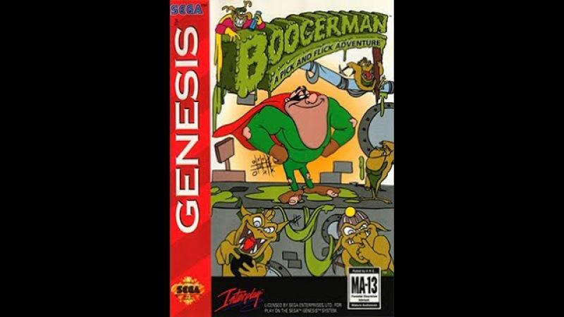 Boogerman Прохождение (Sega Rus)