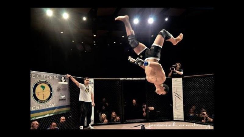 Боец капоэйра в ММА: Маркус Аурелио: Танец с отрыванием головы