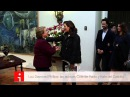 Президент Чили, Мишель Бачелет, встречает каст 33 в Ла-Монеде