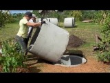 Шамбо без крана своими руками септик строим сами /  groundwater septic / septic build themselves