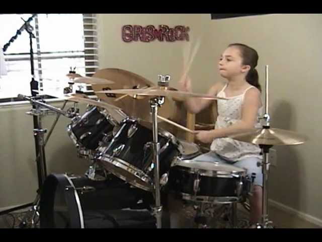 The Beatles Birthday a Drum Cover By Emily
