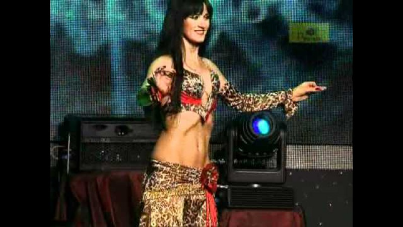 1st place in competition Queen of the Pyramid 2010 Bellydancer Dovile from Lithuania Kaunas