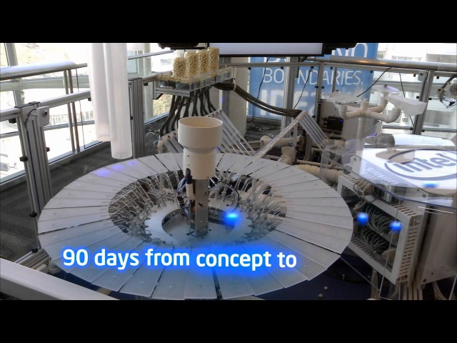 The Robotic Musicians known as: Intel's Industrial Control in Concert | Intel