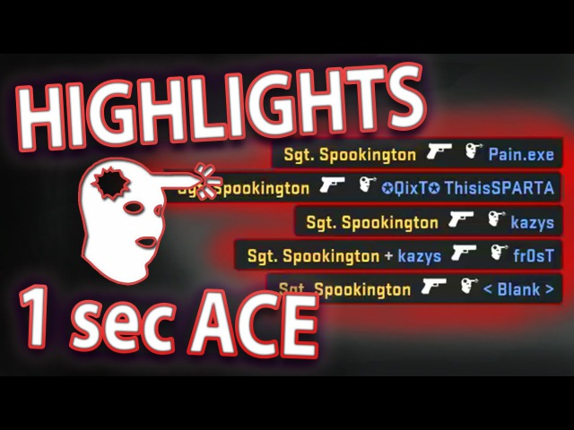 TWITCH HIGHLIGHTS - 1 SECOND PISTOL ACE
