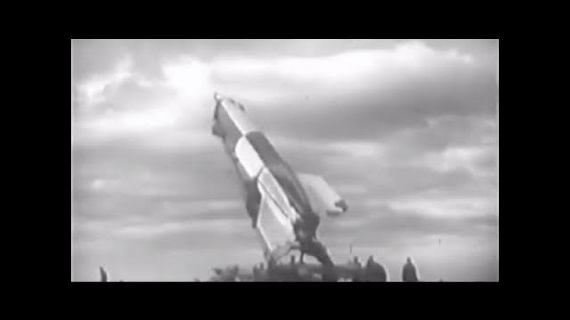 Испытания стрельбой дальнобойных ракет ФАУ-2 (1947)
