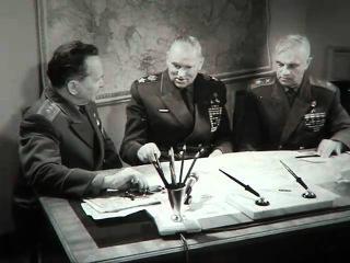 Рокоссовский, Батов, Казаков вспоминают об уничтожении армии Паулюса в Сталинграде. (СССР, 1967)