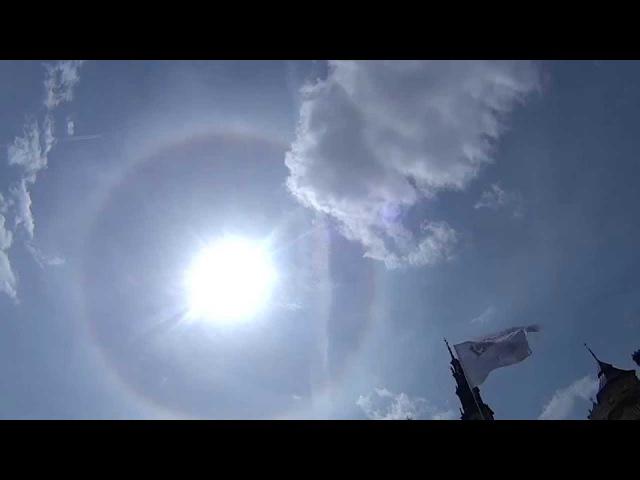 Ciekawe zjawisko na niebie - Częstochowa 16.05.2015