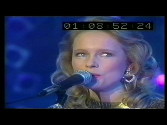 Peter's pop-show 1987 Mike Oldfield Anita Hegerland - The Time Has Come.