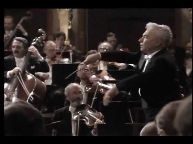P. I. Tchaikovsky. Sinfonia Nº 4 OP 36. Orquestra Filarmônica de Viena, regida por Herbert Von Karajan.
