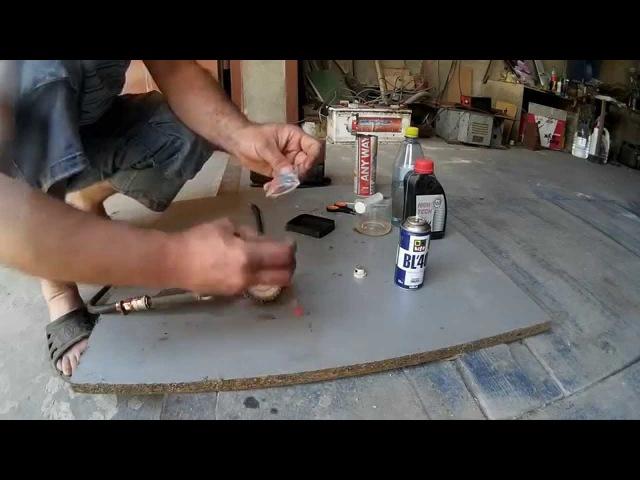 Вэдэшка своими руками WD 40 handmade Перезарядка баллона KarakayS Chanal