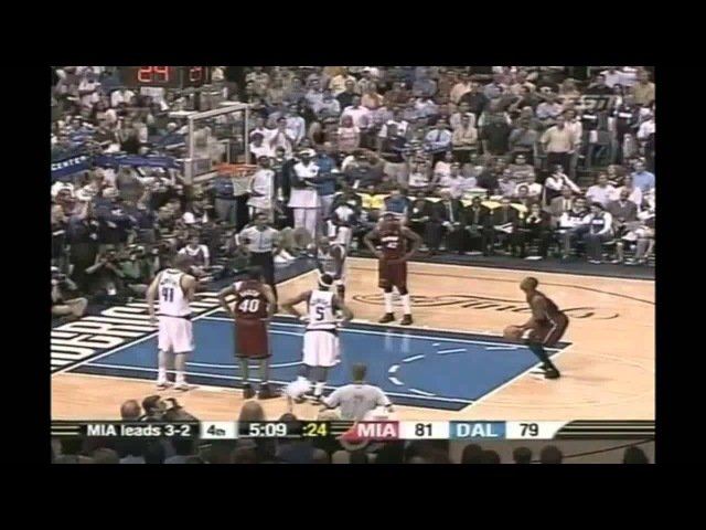 2006 NBA Finals - Miami vs Dallas - Game 6 Best Plays