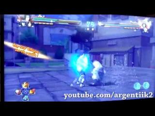 Naruto Storm 4 | Hinata Hyûga Complete Moveset [1080p]
