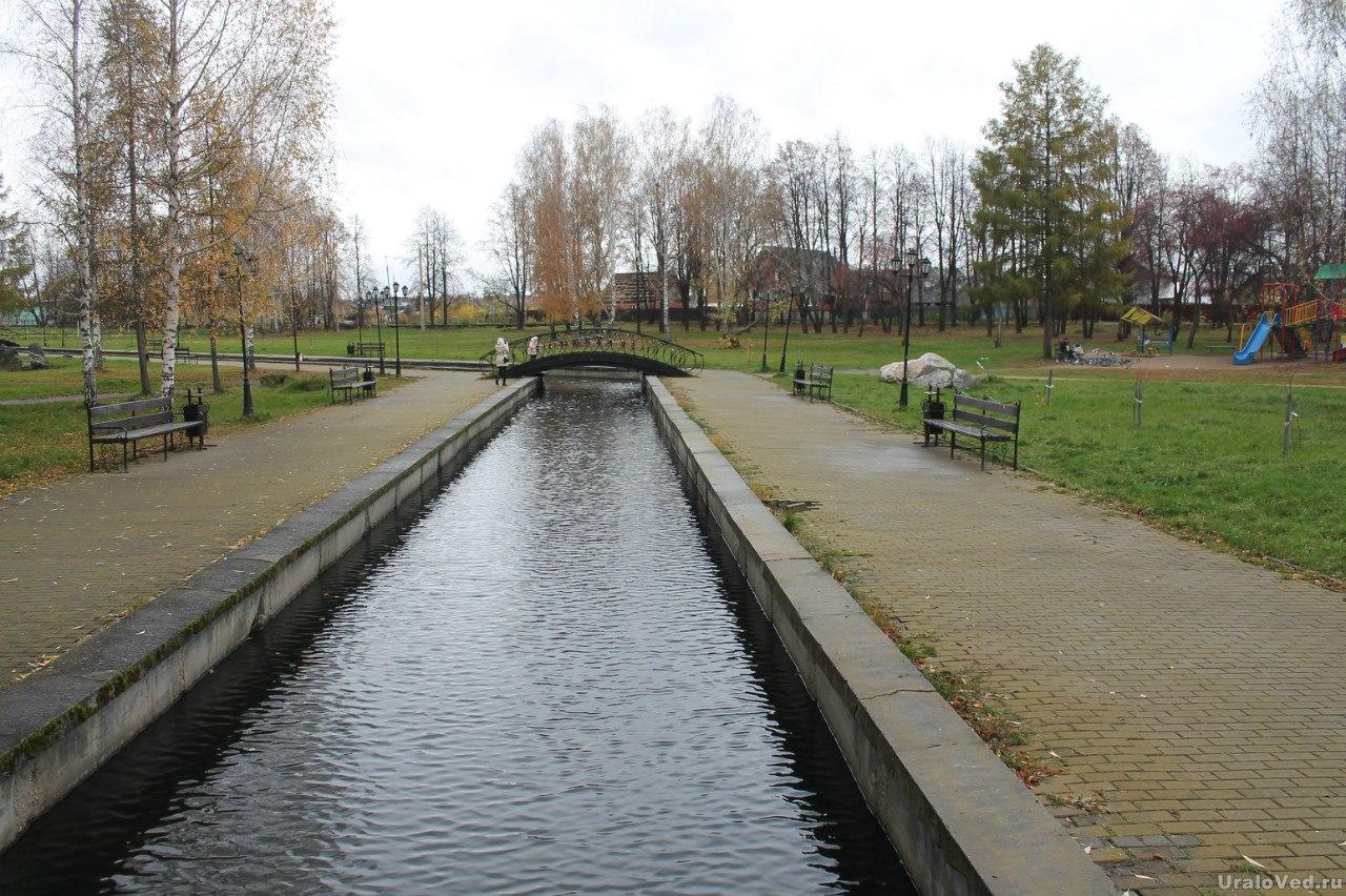 Исторический сквер в Березовском