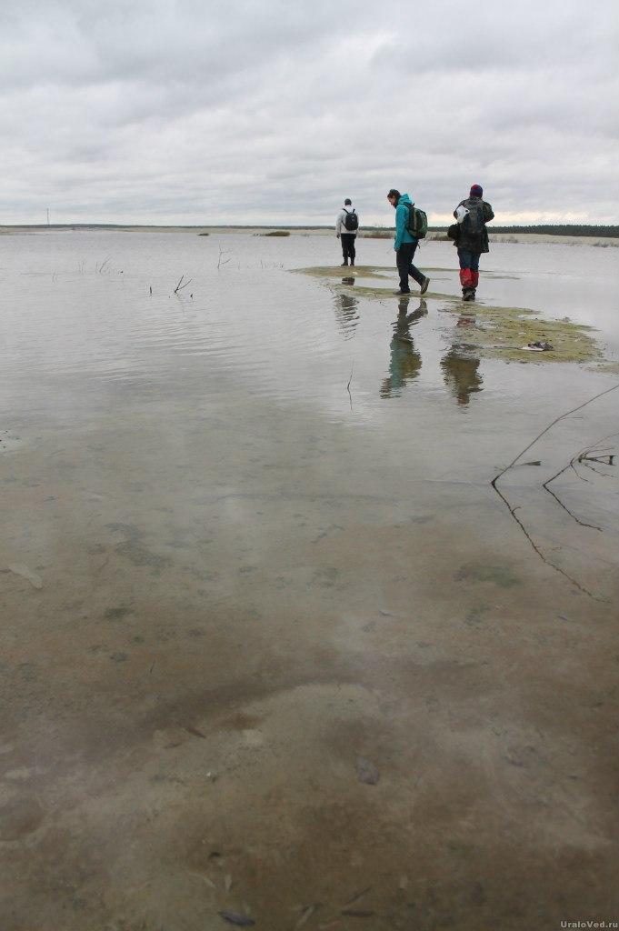 Озеро в Песках