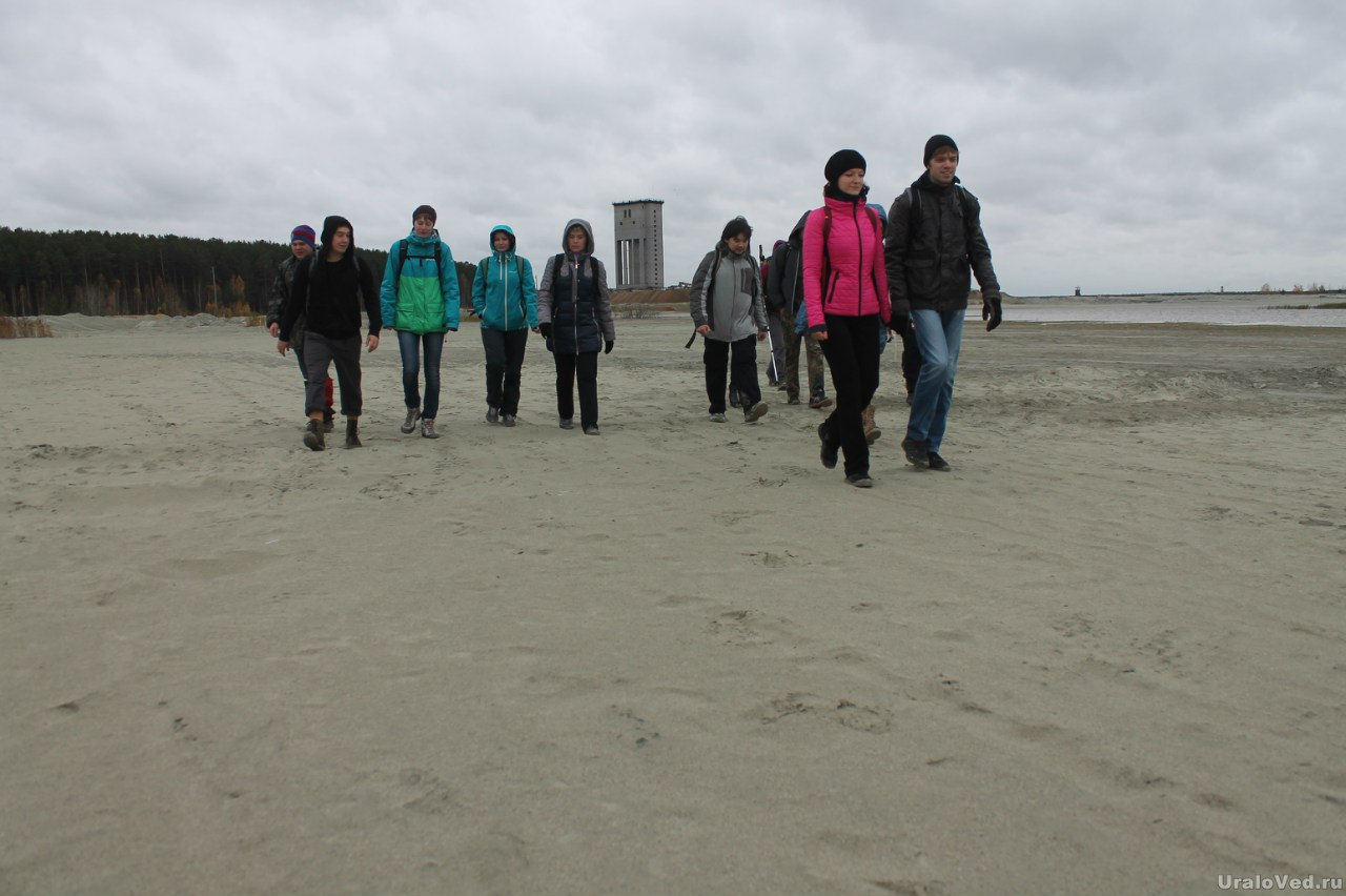 Пески в Березовском