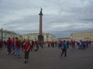 Роллер пробег по центру С-Петербурга 16 мая 2015