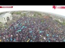 Crimean Tatars At Aqmescit Simferopol, May 18 2014