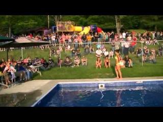 Miss Hawg Wild Bikini Contest Nanty Glo Pool N Pork 2013