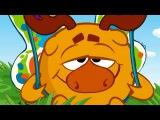 Смешарики 2D - Бабочка  Мультики для детей и взрослых
