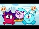 Смешарики 2D : Лёд (Мультики детям)