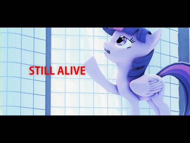 (SFM Ponies) (PMV) Lisa Miskovsky - Still Alive (Mirror's Edge OST)