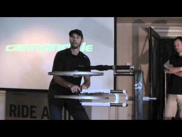 Benefits Cannondale Lefty fork by Beukers Bike Centre