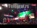 Ruski Kozaci pevaju Tamo Daleko na Karnevalu u Vrnjačkoj Banji