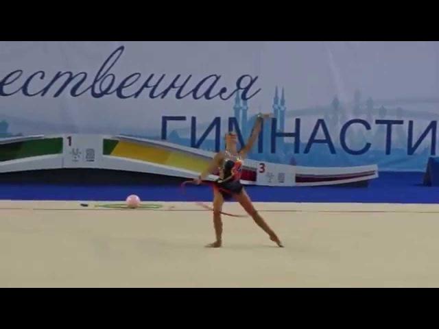 Веденеева Екатерина,обруч. III Спартакиада школьников г.Казань 2014