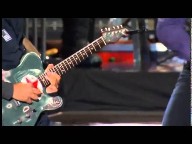 Bruce Springsteen Tom Morello High Hopes Dallas, 2014