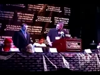 реакция Тито Ортиза на угрозы Кена Шемрока UFC