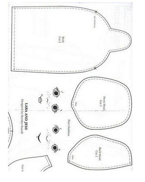 Одежда для тыквоголовки выкройки
