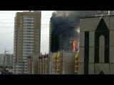 В центре Красноярска горит жилой дом - Первый канал