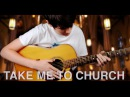 Take me to Church - Hozier (Fingerstyle Guitar Cover by Eddie van der Meer)