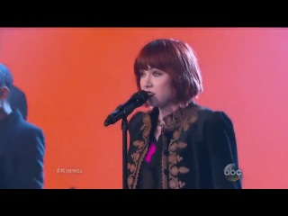 Карли Рей Джепсен / Carly Rae Jepsen - I Really Like You (Jimmy Kimmel Live) 06 03 2015