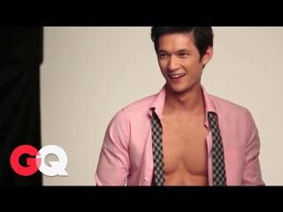 Behind the Scenes- Harry Shum GQ - Dance - Glee Actor - GQ Celebrities