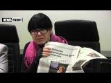 Пресс-конференция Алены Кочкиной на тему создания первой парламентской газеты