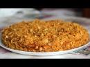 Постный торт Медовик с необычным кремом