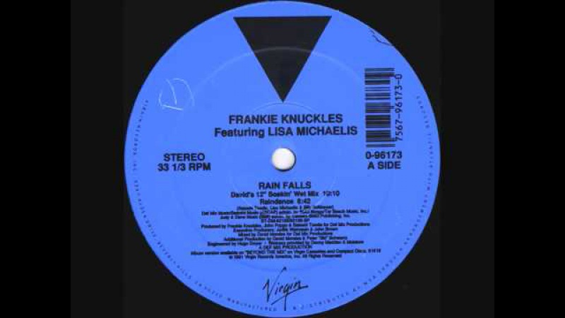 Frankie Knuckles - Rain Falls (David's 12 Soakin Wet Mix) 1991