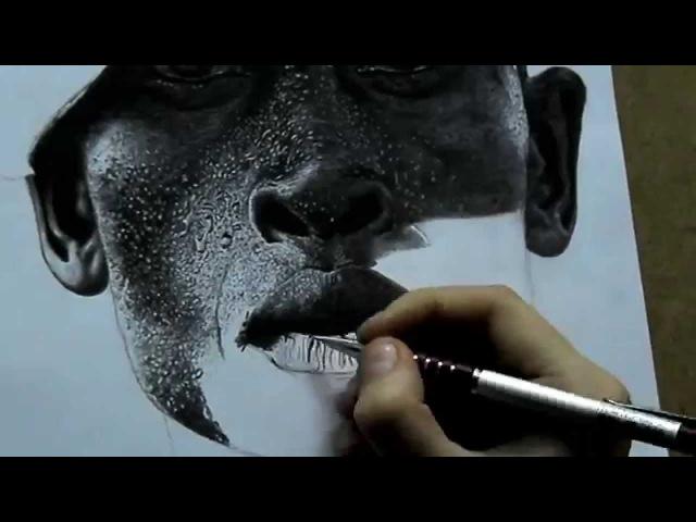 Рисунок карандашом (гиперреализм)