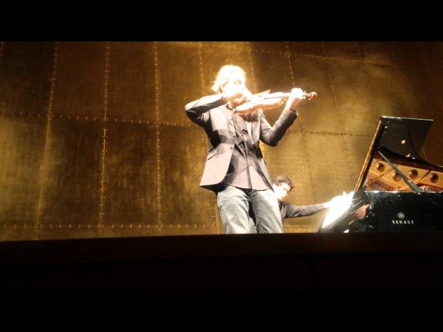 David Garrett Paris 22 03 2015 Brahms Thuner sonate II