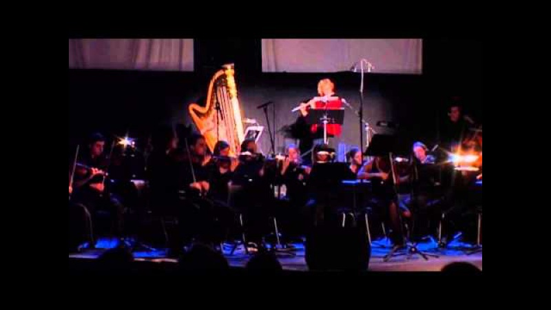 Flint Juventino Beppe: «Flute Mystery» Op.66b (Hall / Postma / Valeev, Live performance 2008)