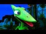 Поезд Динозавров мультик для детей: Самый умный динозавр, Пити Петейнозавр, 5 серия