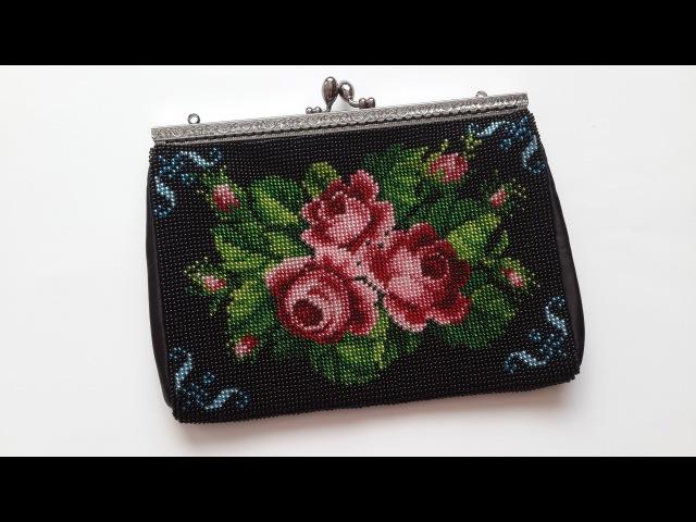 Шьем сумочку бисером от ТМ Мережка