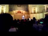 В.С. Лановой исполняет песню из фильма