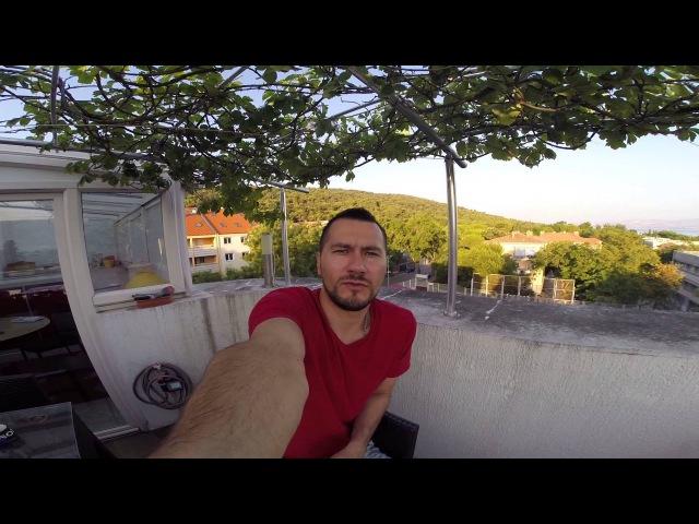 Первое видео из Хорватии: смени обстановку