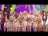 150829 Music Core Girls' Generation #1 음악중심 소녀시대 1위